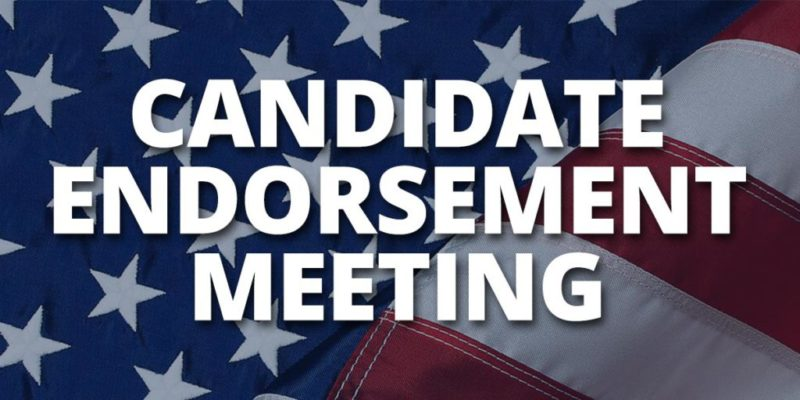 Candidate Endorsement Meeting