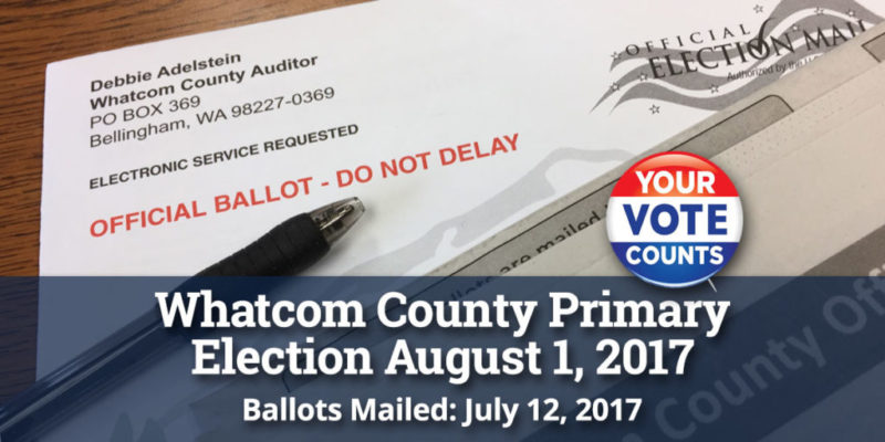 2017 August Primary Reminder
